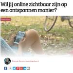 Wil jij online zichtbaar zijn op een ontspannen manier?