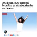 10 Tips om jouw personal branding en zichtbaarheid te verbeteren